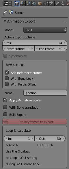 Animation Export | Avastar 2